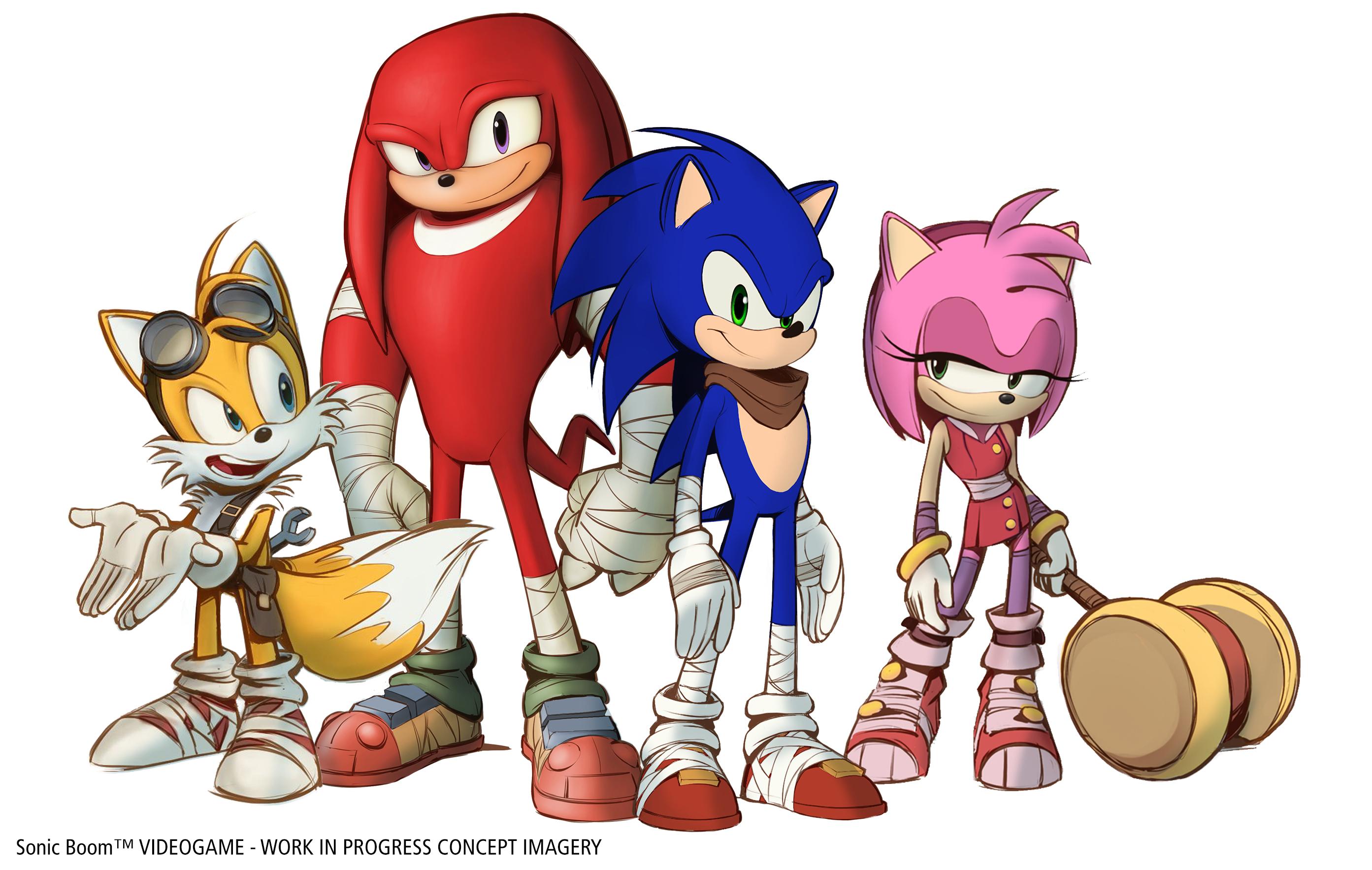 Sonic boom plus qu 39 un dessin anim c 39 est aussi un jeu - Boom dessin anime ...